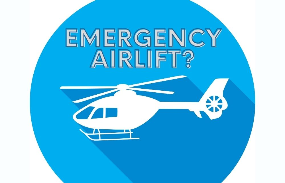 Learn the Acronym EMS Uses to Determine If It's Time for an Emergency Airlift